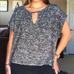 American Eagle Grey Knit Top